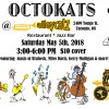 OCTOKATS @ Alleycatz, Saturday May 5th, 2018