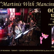 """Martinis With Mancini"" – Octokats at 120 Diner"