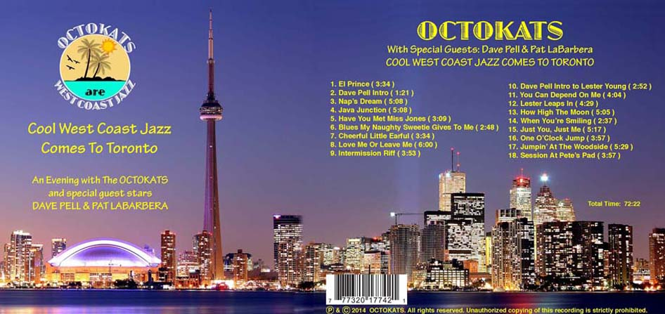 Octokats Debut CD Cover
