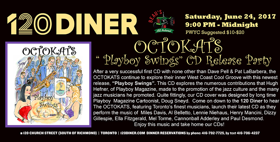 "OCTOKATS-""Playboy Swings"" CD Launch"