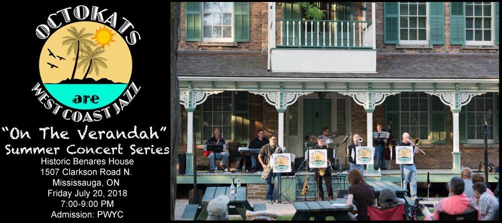 "OCTOKATS at Benares House ""On the Verandah"" Summer Concert Series"